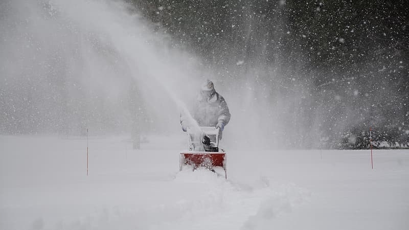 Guy Who Lives In Snowy Climate Pissed It'sSnowing