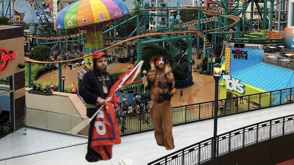 Self-Proclaimed Patriots Storm Nickelodeon Universe In Protest OfShutdown