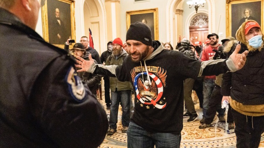 Libtards Storm Capitol Dressed As Gas Station Employees